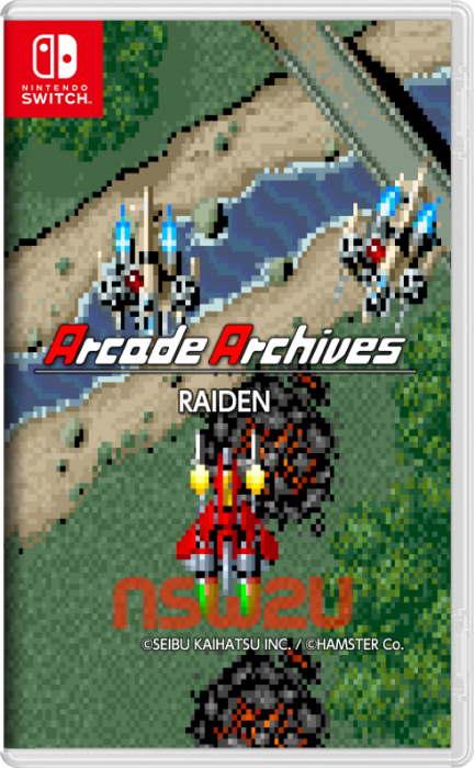 Arcade Archives RAIDEN Switch NSP XCI