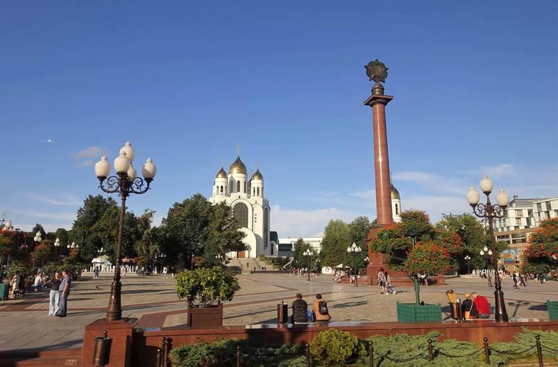 Площадь Победы Калининграда