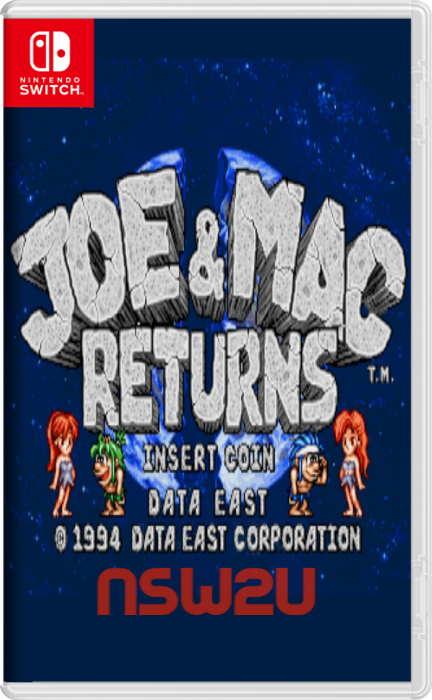 Johnny Turbo's Arcade: Joe and Mac Returns Switch NSP XCI