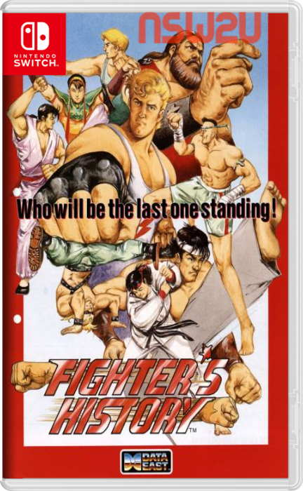 Johnny Turbo's Arcade: Fighter's History Switch NSP XCI