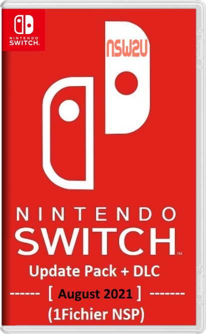 Nintendo Switch Update Pack + DLC [August 2021] (1Fichier NSP)