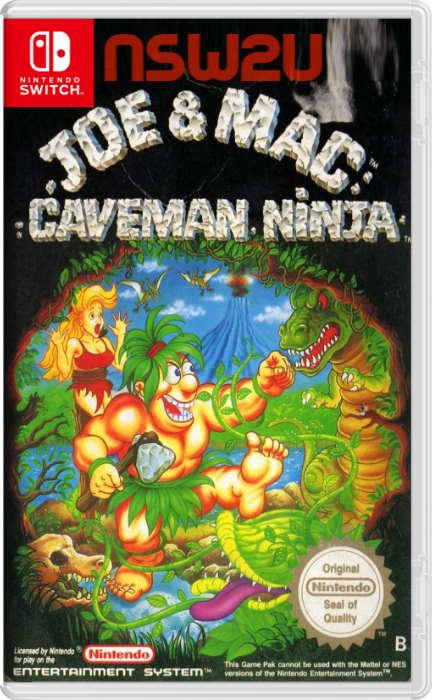 Johnny Turbo's Arcade Joe and Mac Caveman Ninja Switch NSP XCI