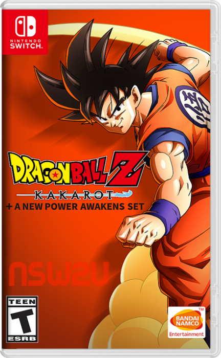 DRAGON BALL Z: KAKAROT + A NEW POWER AWAKENS SET Switch NSP XCI NSZ