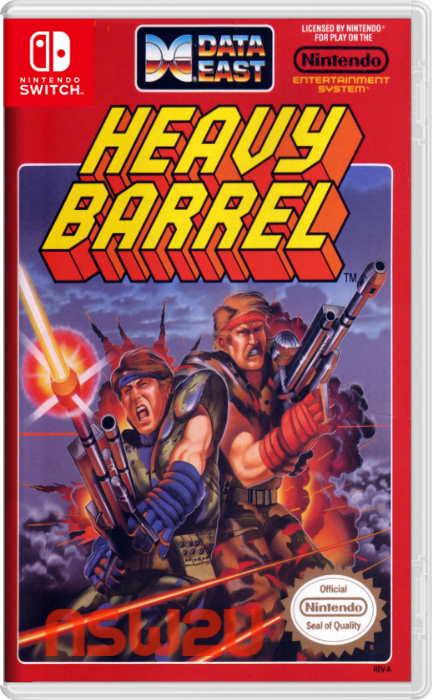 Johnny Turbo's Arcade: Heavy Barrel Switch NSP XCI