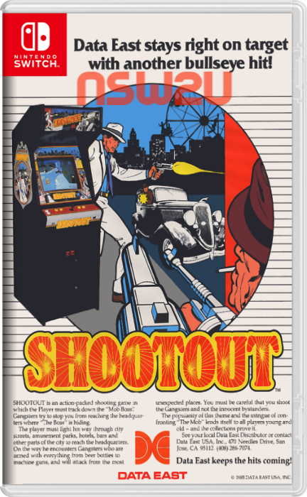 Johnny Turbo's Arcade: Shoot Out Switch NSP XCI