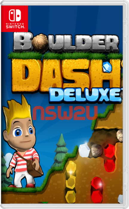 Boulder Dash Deluxe Switch NSP