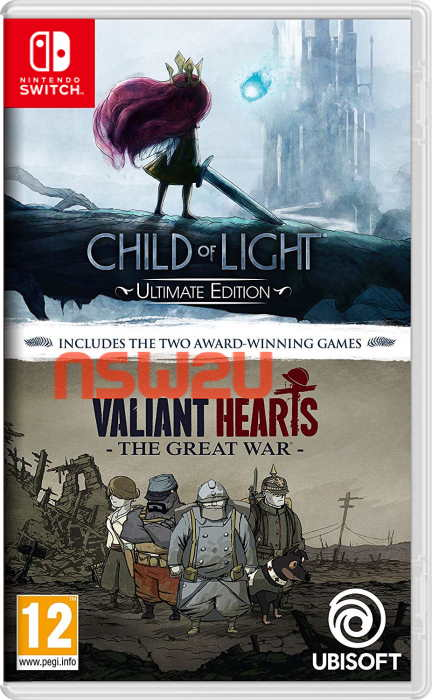 Child of Light Ultimate Edition + Valiant Hearts: The Great War Switch NSP XCI NSZ eShop