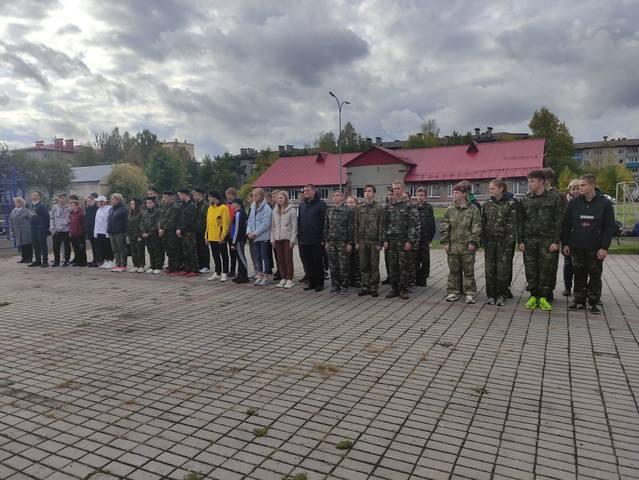 1 этап городской спартакиады по военно-прикладным и техническим видам спорта «Решение пожарно-тактической задачи»