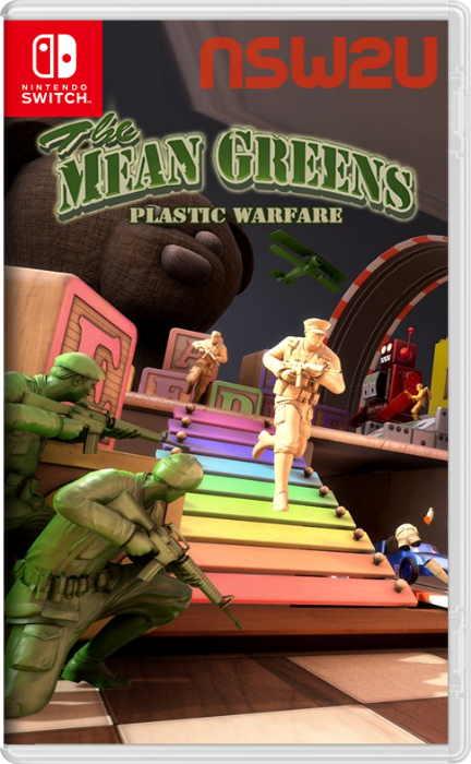 The Mean Greens – Plastic Warfare Switch NSP