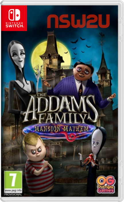 The Addams Family: Mansion Mayhem Switch NSP