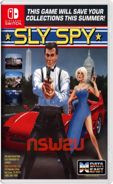 Johnny Turbo's Arcade: Sly Spy Switch NSP XCI