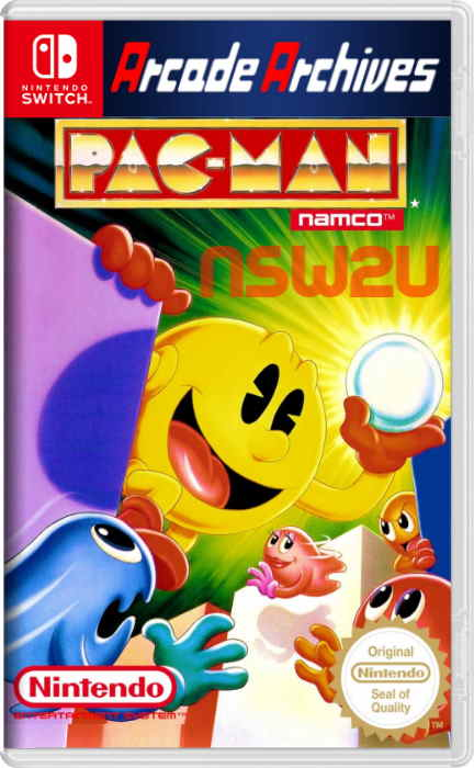 Arcade Archives PAC-MAN Switch NSP