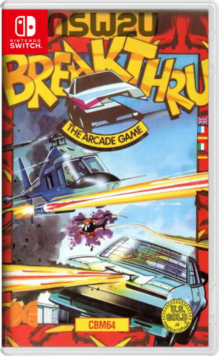 Johnny Turbo's Arcade: Break Thru Switch NSP XCI