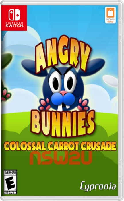 Angry Bunnies: Colossal Carrot Crusade Switch NSP