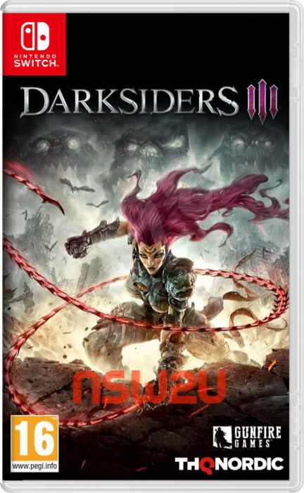 Darksiders III Switch NSP XCI NSZ