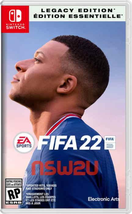 FIFA 22 Nintendo Switch Legacy Edition Switch NSP XCI NSZ