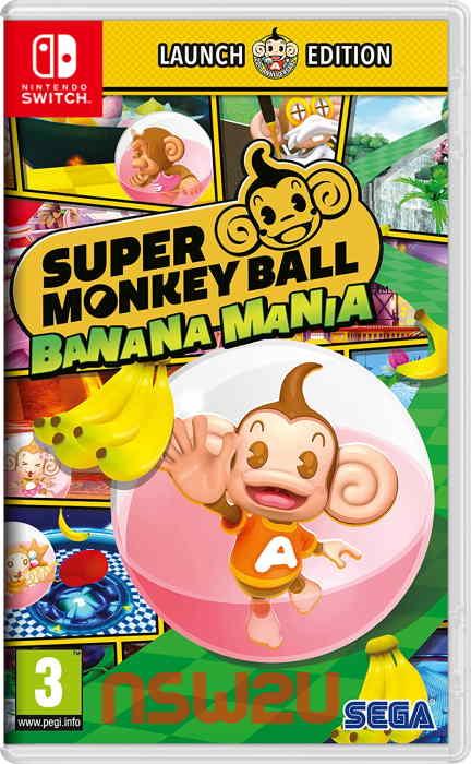 Super Monkey Ball Banana Mania Switch NSP XCI NSZ
