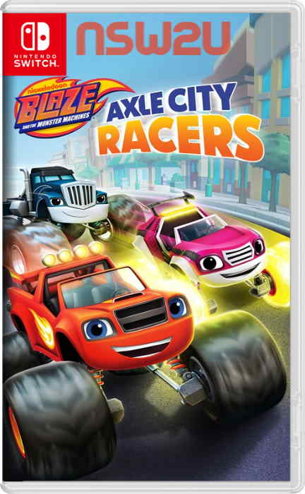 Blaze and the Monster Machines: Axle City Racers Switch NSP XCI NSZ