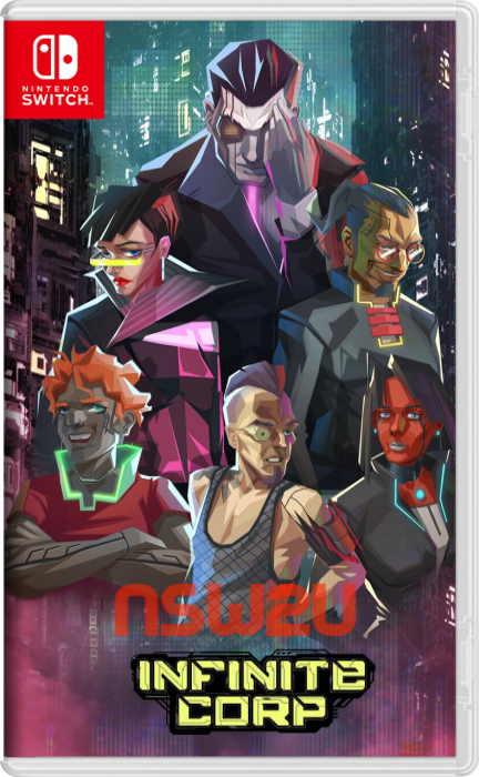 InfiniteCorp: Cyberpunk Card Game Switch NSP