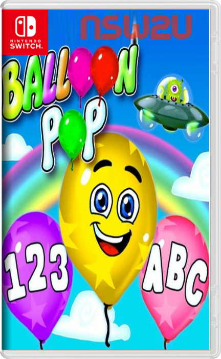 Balloon Pop – Learning Letters, Numbers, Colors, Game for Kids Switch NSP XCI NSZ