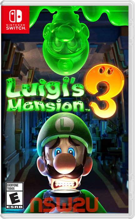 Luigi's Mansion 3 + Update 1.4.0 + 2DLC Switch NSP XCI NSZ