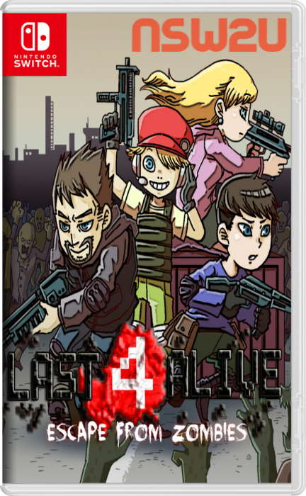 Last 4 Alive: Escape From Zombies Switch NSP XCI NSZ