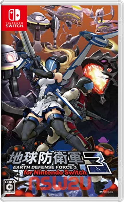 EARTH DEFENSE FORCE 3 for Nintendo Switch NSP XCI NSZ