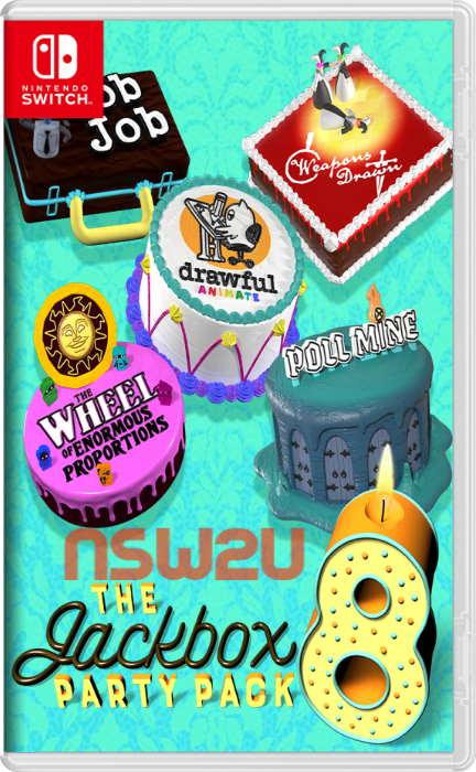 The Jackbox Party Pack 8 Switch NSP XCI NSZ