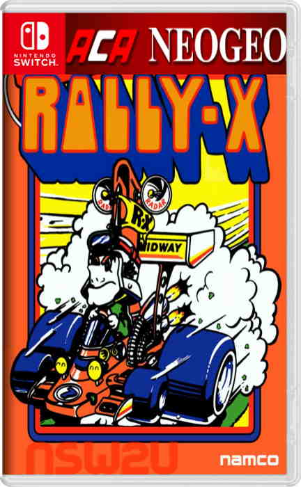 Arcade Archives RALLY-X Switch NSP