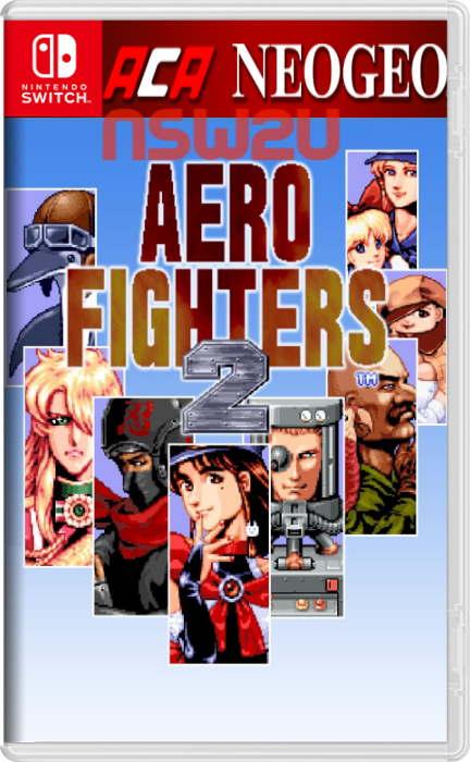 ACA NEOGEO AERO FIGHTERS 2 Switch NSP