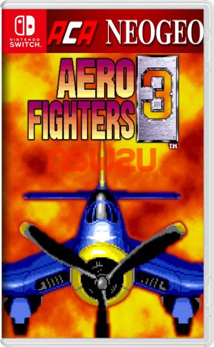 ACA NEOGEO AERO FIGHTERS 3 Switch NSP