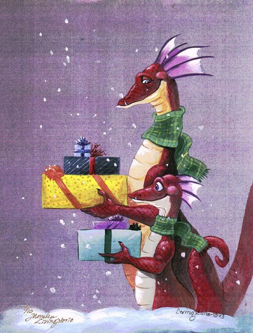 С днем рождения картинка дракон, это