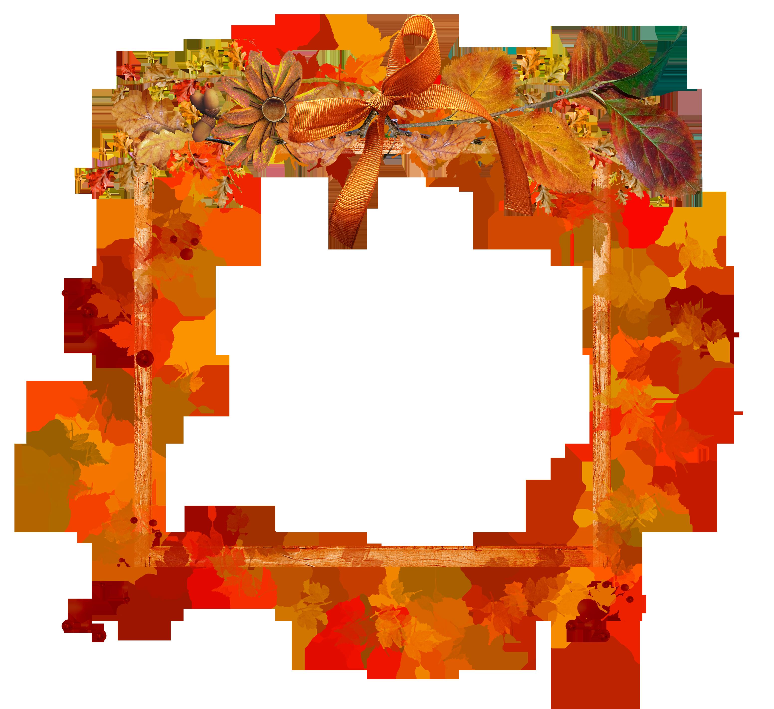 Осень рамки картинки